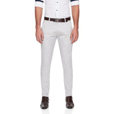 Fashion 4 Men - yd. Austin Chino Light Grey 40