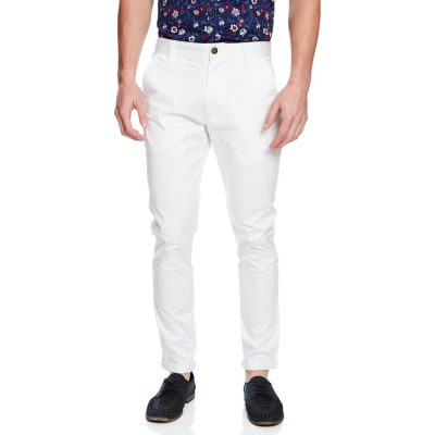 Fashion 4 Men - yd. Austin Chino White 40