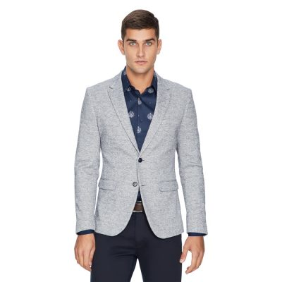 Fashion 4 Men - yd. Boden Marl Blazer Navy Marl Xl