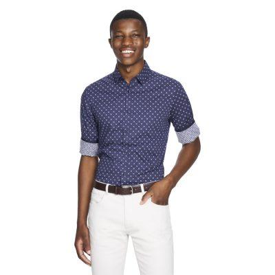 Fashion 4 Men - yd. Chief Slim Fit Shirt Burgundy Xxxl