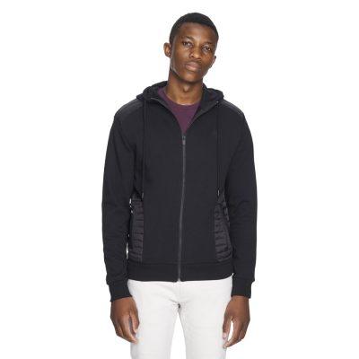 Fashion 4 Men - yd. Cowley Hoodie Black 2 Xs