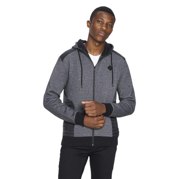 Fashion 4 Men - yd. Cowley Hoodie Charcoal M