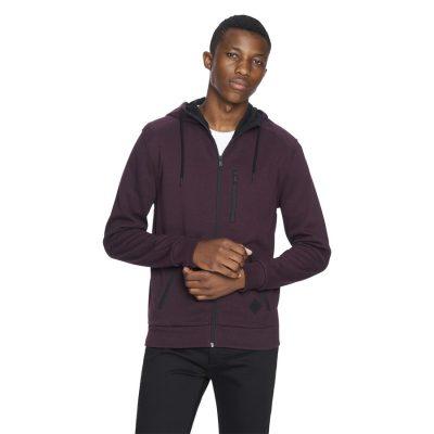 Fashion 4 Men - yd. Denver Hoodie Burgundy M