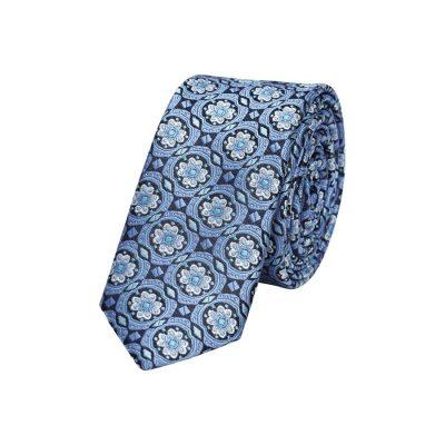 Fashion 4 Men - yd. Fancy 5 Cm Tie Blue One