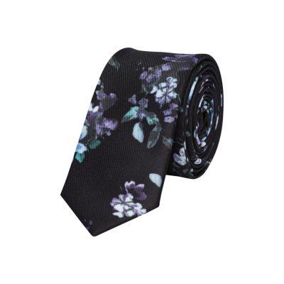 Fashion 4 Men - yd. Fun Floral 5 Cm Tie Black One