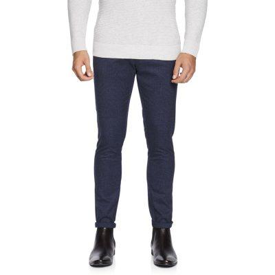 Fashion 4 Men - yd. Kappa Skinny Chino Blue Check 38