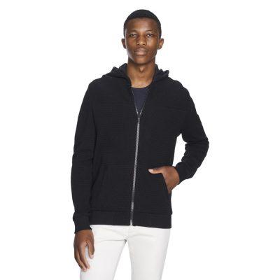 Fashion 4 Men - yd. Kato Hoodie Black Xs