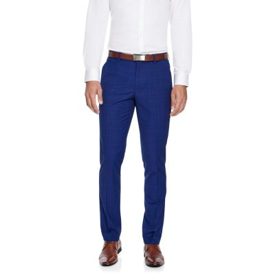 Fashion 4 Men - yd. Marshall Skinny Dress Pant Blue 40
