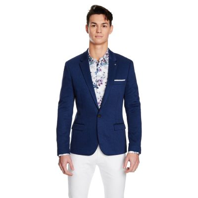 Fashion 4 Men - yd. Maximus Blazer Cobalt 3 Xs