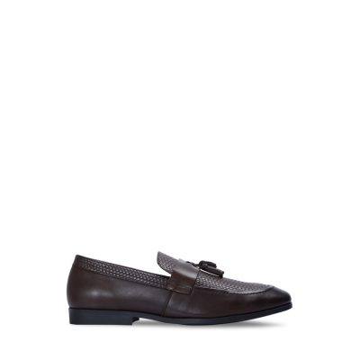 Fashion 4 Men - yd. Patel Textured Loafer Chocolate 12