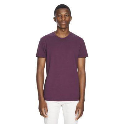 Fashion 4 Men - yd. Premium Cotton Tee Burgundy Xs