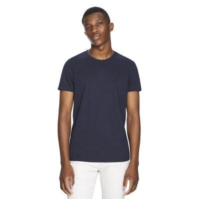 Fashion 4 Men - yd. Premium Cotton Tee Navy 2 Xs