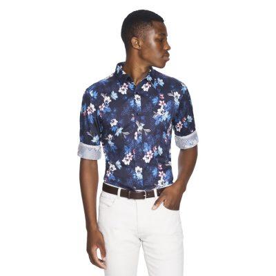 Fashion 4 Men - yd. Raphael Shirt Navy L