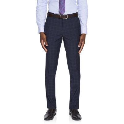 Fashion 4 Men - yd. Rio Skinny Check Pant Ink 36