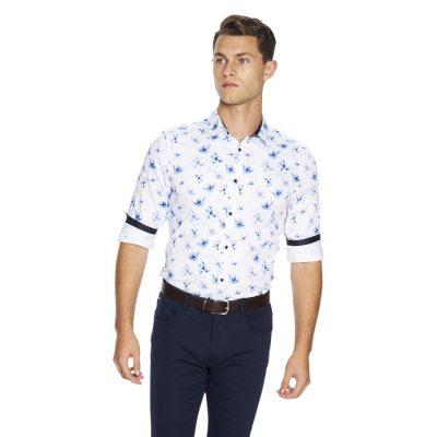 Fashion 4 Men - yd. Samson Slim Fit Shirt White Xxxl