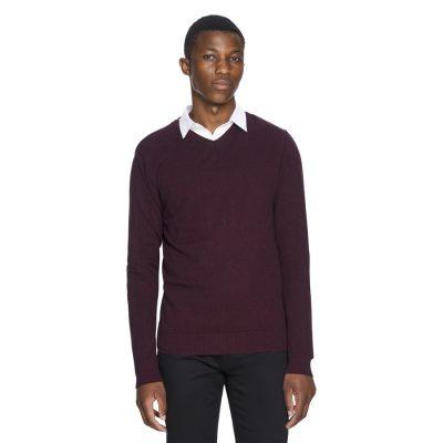 Fashion 4 Men - yd. Shay V Neck Port Xs