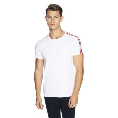 Fashion 4 Men - yd. Terry Tape Tee White Xs