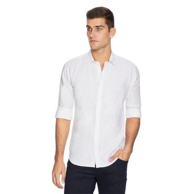 Fashion 4 Men - yd. West Hampton Shirt White S