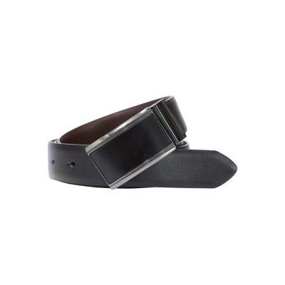 Fashion 4 Men - yd. Willie Dress Belt Black 36