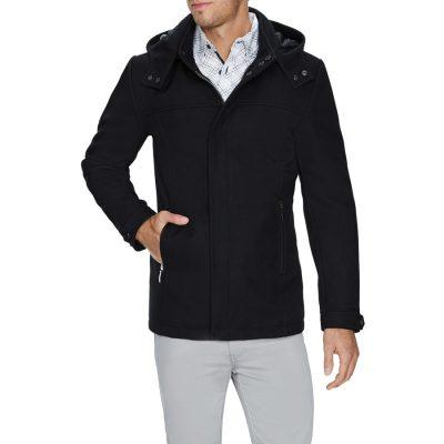 Fashion 4 Men - Tarocash Aberdeen Coat Black M