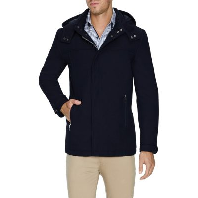 Fashion 4 Men - Tarocash Aberdeen Coat Navy Xl
