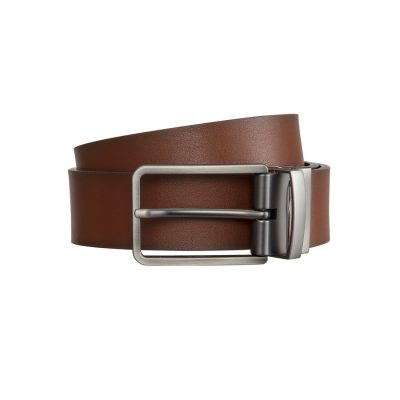 Fashion 4 Men - Tarocash Ceebee Reversible Prong Belt Tan/Black 30