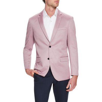 Fashion 4 Men - Tarocash Clooney Textured Blazer Musk 5 Xl