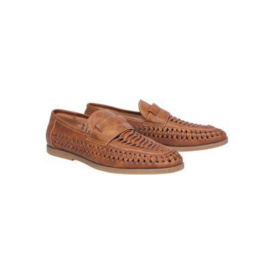 Fashion 4 Men - Tarocash Harry Slip On Shoe Tan 13