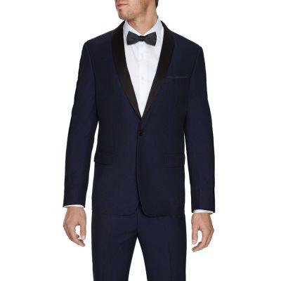 Fashion 4 Men - Tarocash King Tuxedo Jacket Navy Xs