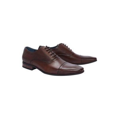Fashion 4 Men - Tarocash Mayall Dress Shoe Chocolate 13
