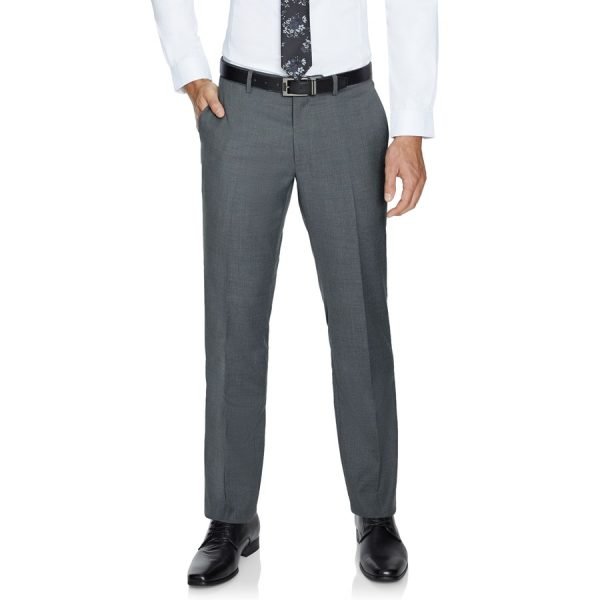 Fashion 4 Men - Tarocash Pierce Stretch Pant Silver 33