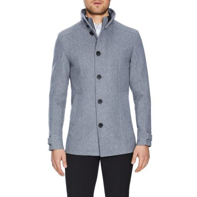Fashion 4 Men - Tarocash Stoneham Coat Grey Xxxl