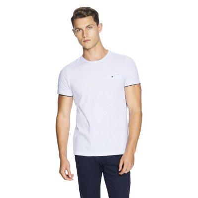 Fashion 4 Men - yd. Apsley Tee Blue Xs