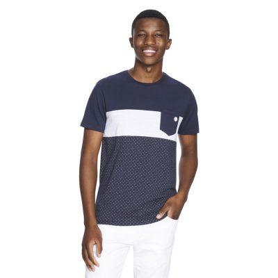 Fashion 4 Men - yd. Batch Tee Navy 2 Xs