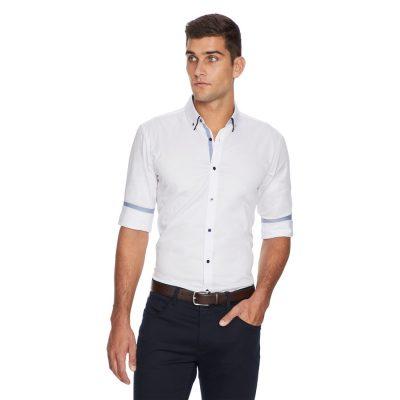 Fashion 4 Men - yd. Bayter Shirt White 2 Xs