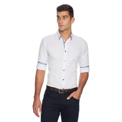 Fashion 4 Men - yd. Bayter Shirt White Xl