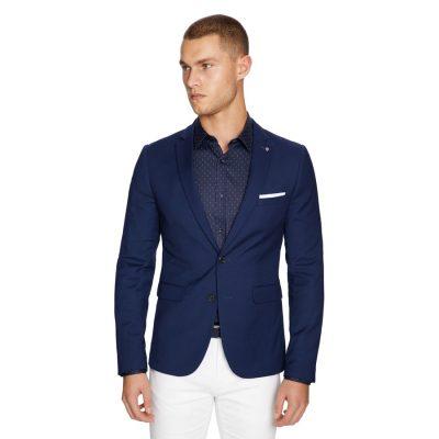 Fashion 4 Men - yd. Becks Blazer Navy 3 Xs