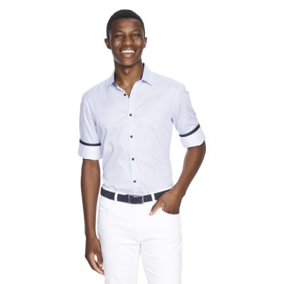 Fashion 4 Men - yd. Benton Shirt Blue Xxl