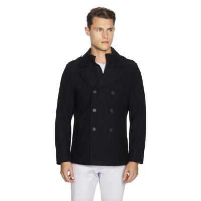 Fashion 4 Men - yd. Bowie Melton Jacket Black Xxxl