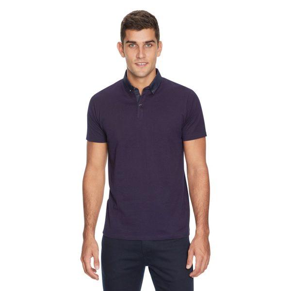 Fashion 4 Men - yd. Coledale Geo Polo Navy 2 Xl