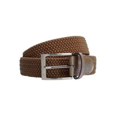 Fashion 4 Men - yd. Cooper Stretch Belt Brown 40