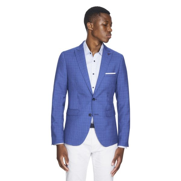 Fashion 4 Men - yd. Herc Blazer Blue 3 Xs
