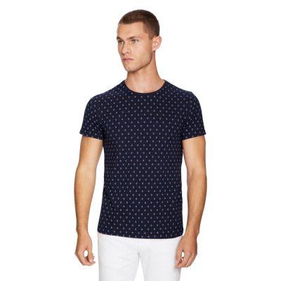 Fashion 4 Men - yd. Metro Tee Dark Blue 2 Xs