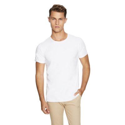Fashion 4 Men - yd. Muscle Basic Tee White 3 Xl