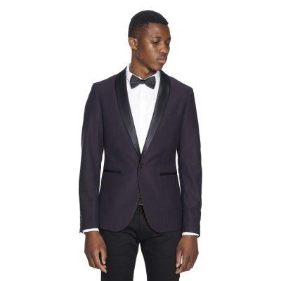 Fashion 4 Men - yd. Odin Blazer Wine Xxxl