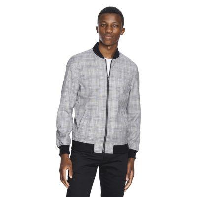 Fashion 4 Men - yd. Owen Check Jacket Black L