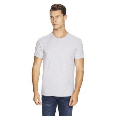 Fashion 4 Men - yd. Relaxed Basic Tee Grey Marle S