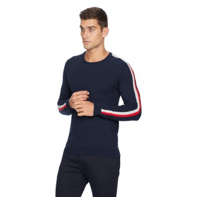 Fashion 4 Men - yd. Sterling Knit Navy S