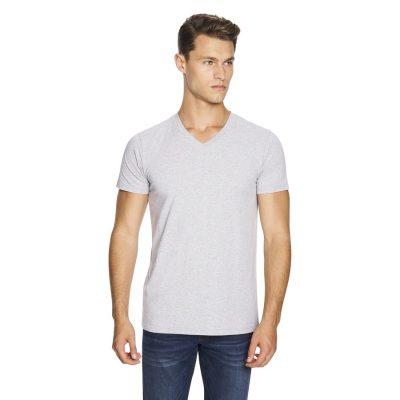 Fashion 4 Men - yd. Vinton Tee Grey Marle Xs