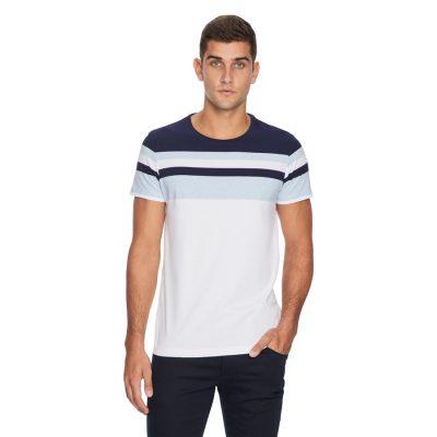 Fashion 4 Men - yd. Wharf Tee Blue 3 Xl